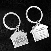 """""""Home Sweet Home"""" Laser Engraved Metal Keyholder"""
