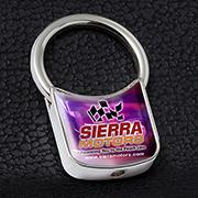 """Mike D"" Metal Keyholder with PhotoImage ® Full Color Domed Imprint*"