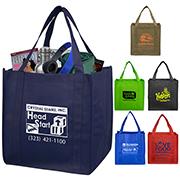"12-1/2"" W x 13"" H - ""Mega"" Grocery Shopping Tote Bag"