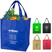 "13"" W x 14-1/2"" H -""Super Mega"" Grocery Shopping Tote Bag"