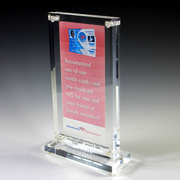 Custom Acrylic Award - 20