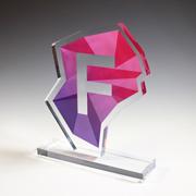 Custom Acrylic Award - 22