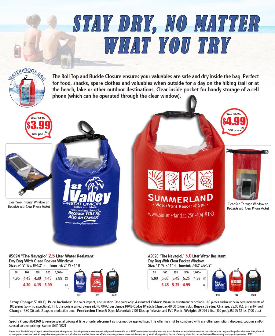5094 5095 Water Resistant Dry Bag