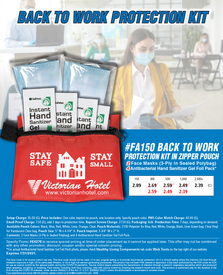 FA150 Back To Work Protection Kit