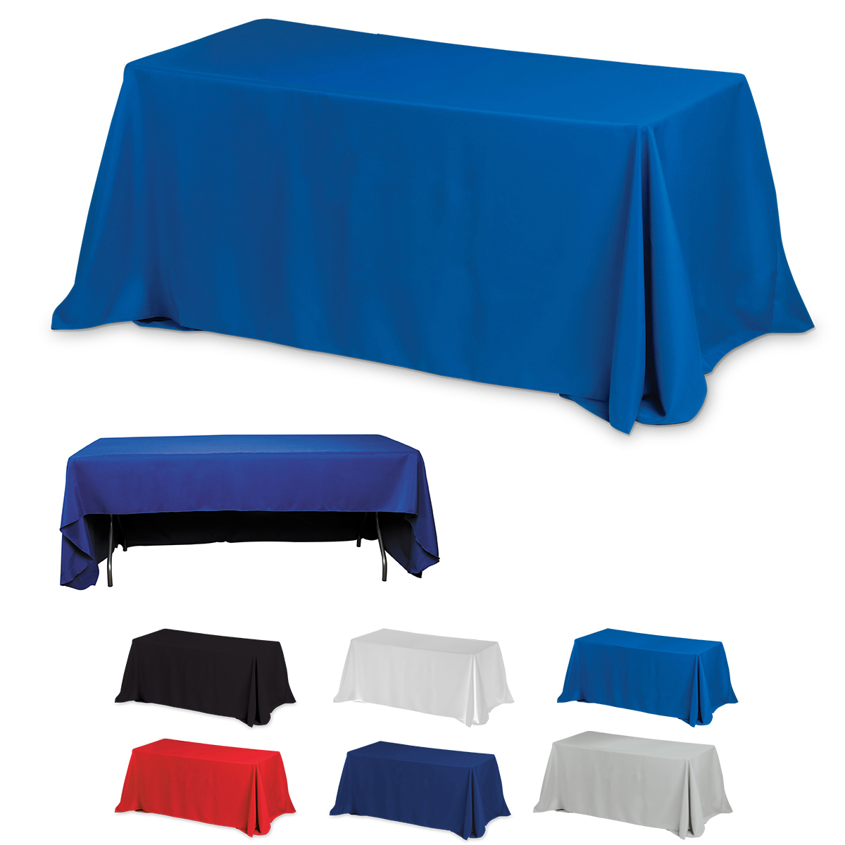 6 39 3 sided economy table covers table throws blanks for Table th row group