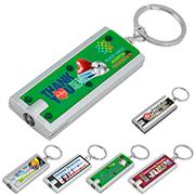 """""""Akari FC"""" PhotoImage ® Full Color Imprint Slim Keyholder Keylight  with Bright White LED Light"""