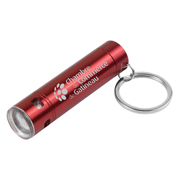 """Streamliner"" LED Aluminum Keychain Keylight"