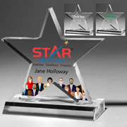 2068S (Screen Print), 2068L (Laser), 2068P (4Color Process) - Large Star Award