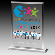 "4 Color Process Billboard Award - 8 1/4"""
