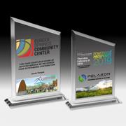 "Photoimage Full Color Billboard Award - 8 3/4"""