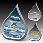 2247S (Screen Print), 2247L (Laser), 2247P (4Color Process) - Modern flame award