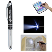 """The Pro"" Stylus Pen with 5 Lumen LED Light"