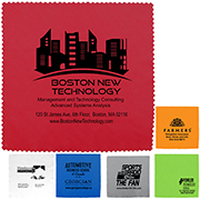 "100% Microfiber Cleaning Cloth & Screen Cleaner 8""x 8"""