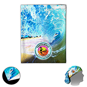"""""""The Husky Cooling Fandana™"""" 170 GSM Full Color Sublimation Gaiter, Facecover and Headwear - Domestic Production"""