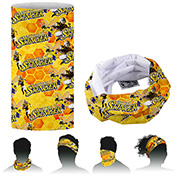 """""""The Fandana™"""" 1-Ply 9 5/8""""W x 17 ¼"""" H - Multi-Functional Head Gaiter and Neck Wear – Domestic Production"""