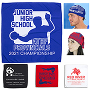 """The Cooling Bandana"" Mask & Protective Face Covering - Headband and Neck Wear"