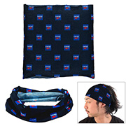 """""""The Fandito""""1-Ply 9 ¾"""" W x 9 ½"""" H - Multi-Functional Head Gaiter and Neck Wear - Overseas Production Sublimated"""