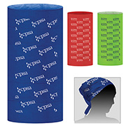 """2-Ply 9 ½"""" W x 19"""" H Multi-Functional Gaiter, Tubular Head And Neck Wear – Domestic Production"""