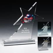 7584S (Screen Print), 7584L (Laser), 7584P (4Color Process) - Shooting Star Award
