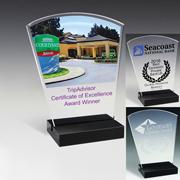7626-1S (Screen Print), 7626-1L (Laser), 7626-1P (4Color Process) - Freedom Acrylic Award