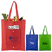 "13"" W x 17"" H -""Cove"" Fold-Up Tote Bag"