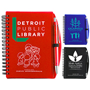 """""""Carmel"""" Jotter Notepad Notebook with Pen"""
