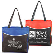 "15"" W x 15"" H - ""The Pro"" Tradeshow, Convention and Meeting Tote Bag"