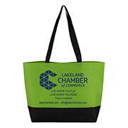 """21"""" W x 15"""" H x 5"""" """"The Orca"""" Large Beach, Corporate and Travel Tote Bag"""