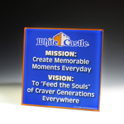 Custom Acrylic Award - 8