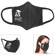 3-Ply 100% Cotton Front Seam Comfort Fit Face Mask