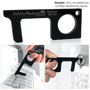 Touchless Black Acrylic Sanitary Key