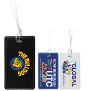 """Lightning"" Leatherette Luggage Tag (PhotoImage Full Color)"