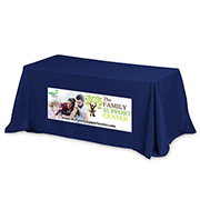 """Preakness Six"" Fits 6 ft Table 3-Sided Economy Table Covers & Table Throws (PhotoImage Full Color)"