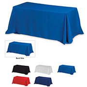 8' 4-Sided Throw Style Table Covers & Table Throws -Blanks / Fit 8 Foot Table