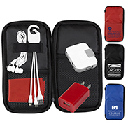 """TravPouch"" Deluxe Cell Phone Charging and Accessory Travel Kit"