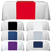 "6' or 8' - 60"" L Table Runners - (Blanks) / Fit 6 or 8 Foot Table"