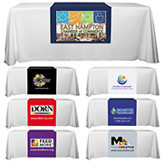 """Roger Six"" 60"" L Table Runners (PhotoImage Full Color) / Accommodates 3 ft Table and Larger"