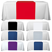 "6' or 8' - 90"" L Table Runners - (Blanks) / Fit 6 or 8 Foot Table"