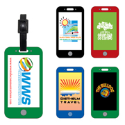 Mobile Cell Phone Luggage Bag Tag