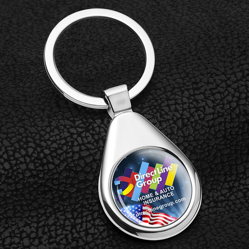 """""""Raindrop"""" Economy with PhotoImage ® Full Color Domed Imprint*"""