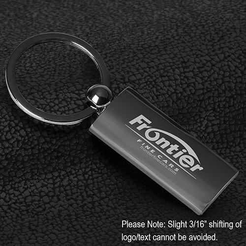 """""""Epoch"""" Laser Engraved Metal Keyholder"""