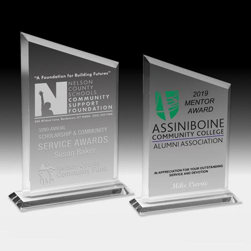 """2085S (Screen Print), 2085L (Laser) - Billboard Award - 8 3/4"""""""