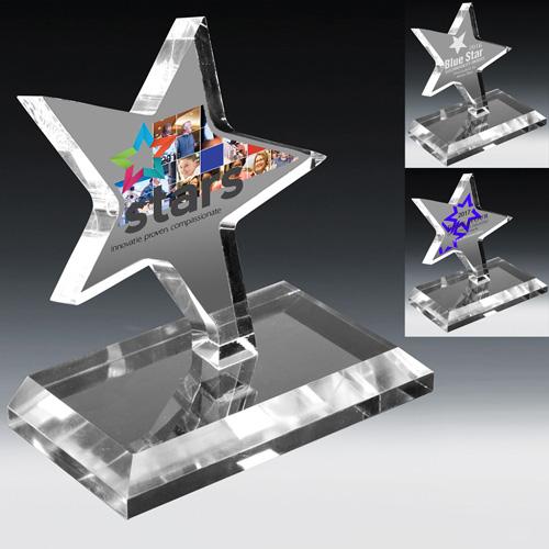 2114S (Screen Print), 2114L (Laser), 2114P (4Color Process) - Dancing Star Award