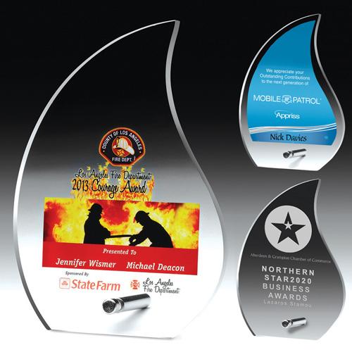 2251S (Screen Print), 2251L (Laser), 2251P (4Color Process) - Flame Award