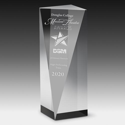 """Carved Obelisk Award - 6"""""""