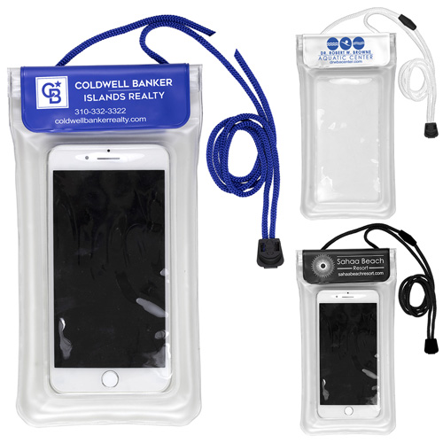 """""""Yuba"""" Clear Touch Through Floating Water Resistant Cell Phone and Accessories Pouch"""