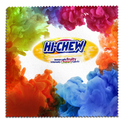 """8"""" x 8"""" Full Color Sublimation Microfiber Cleaning Cloth & Screen Cleaner"""