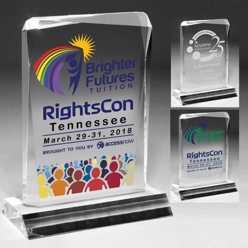 7540CS (Screen Print), 7540CL (Laser), 7540CP (4Color Process) - Jewel Award