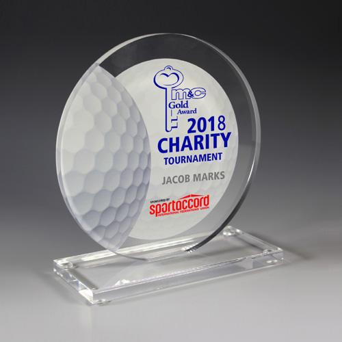 7620S (Screen Print), 7620P (4 Color Process) - Golf Achievement Award