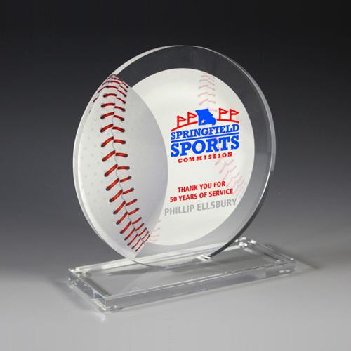 7621S (Screen Print), 7621L (Laser Engrave) - Baseball Achievement Award
